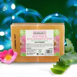 ALOE VERA &ROSA DE MOSQUETA SOAP