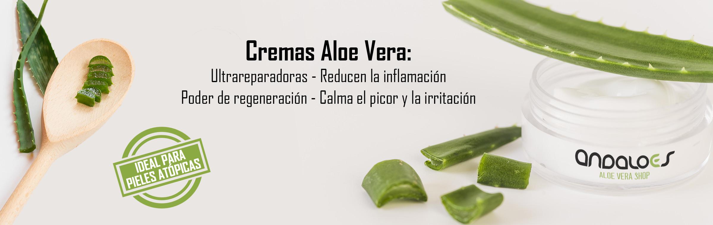 Cremas de Aloe Vera